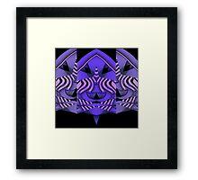 Curvilinear Project No. 116 ( Ze-bra  ) Framed Print