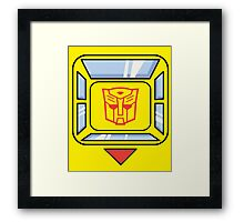 Transformers - Bumblebee Framed Print