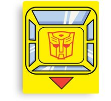 Transformers - Bumblebee Canvas Print