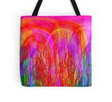 Psychedelic Jungle Tote Bag