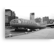 Webb bridge docklands Canvas Print