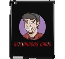 Aficionados Chris Logo iPad Case/Skin