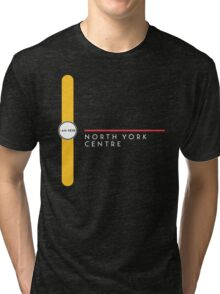 North York Centre station Tri-blend T-Shirt