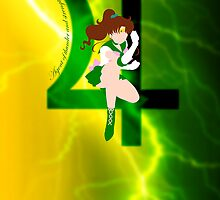 Agent of Thunder and Strength, Sailor Jupiter by usakoneko