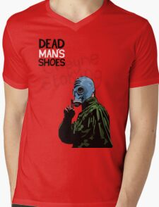 Dead Man's Shoes Paddy Considine Comic Style Illustration Mens V-Neck T-Shirt