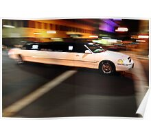 Limo driving Poster