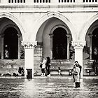 St Marco's Square, Venice - Flooding in November 2012 by TiarasTeddies