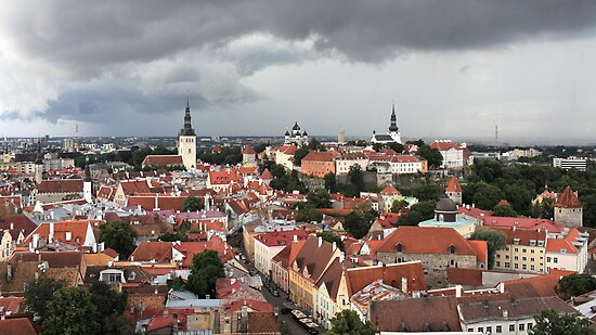 medieval town Tallinn, by mrivserg