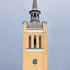 belfry with a clock by mrivserg