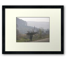 Romania 5 Framed Print