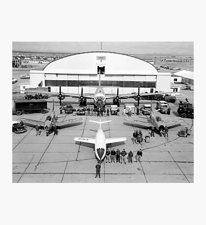 The NACA Test Force, 1952 Photographic Print