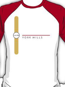 York Mills station T-Shirt