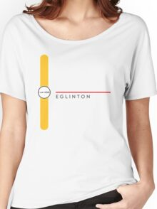 Eglinton station Women's Relaxed Fit T-Shirt