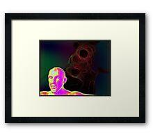 Attack of the Plasmatics Framed Print