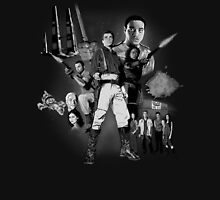 Serenity: The Alliance Strikes Back (black and white version) Unisex T-Shirt