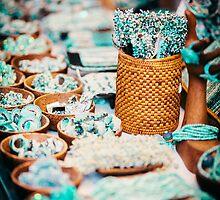 Venetian Jewellery in Shop Window by TiarasTeddies