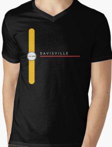 Davisville station Mens V-Neck T-Shirt