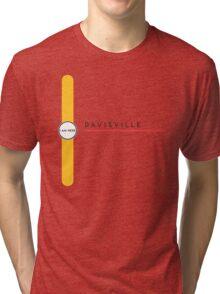 Davisville station Tri-blend T-Shirt