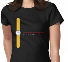 St. Clair station Womens Fitted T-Shirt