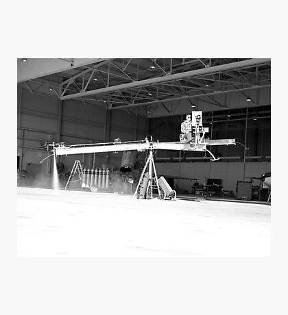 Iron Cross Attitude Simulator With Pilot Photographic Print