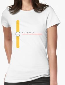 Rosedale station Womens Fitted T-Shirt