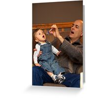 Grandson and Grandpa Greeting Card