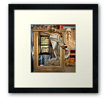Pre-Raphaelite Dilemma Framed Print