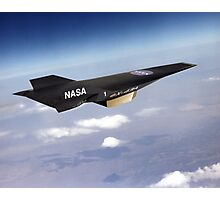 NASA X-43 HYPERSONIC JET Photographic Print