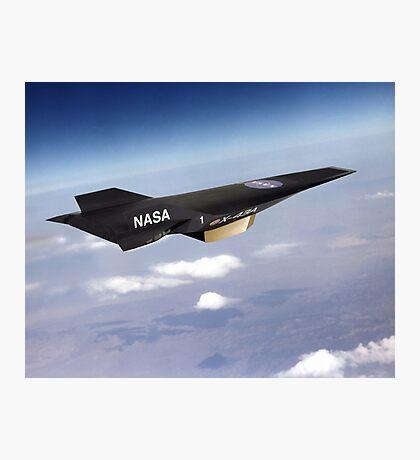 NASA X-43 HYPERSONIC JET Photographic Print
