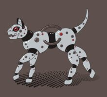 Robot Cat (Red Eyes) by Stephanie Jayne Whitcomb
