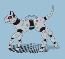 Robot Cat (Red Eyes) Kids Clothes