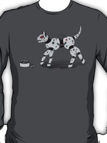 Feed Your Robot Cat (Red Eyes) T-Shirt