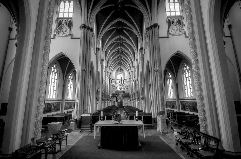 INSIDE in B&W, enlarge to see more details by Nicole W.