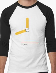 King station Men's Baseball ¾ T-Shirt