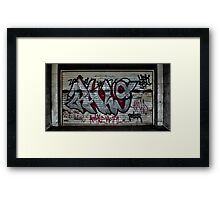 Graffiti : Barcelona Framed Print