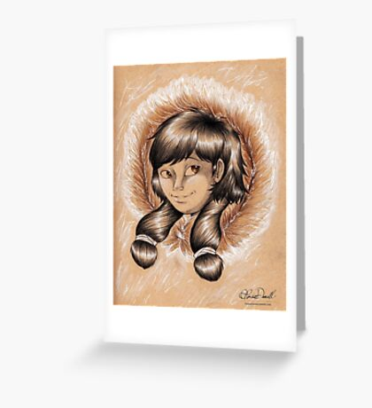 Nuna Greeting Card