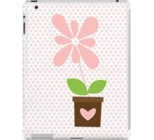 Spring Pink Daisy iPad Case/Skin