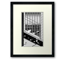 ASAKUSA RICEFIELDS PIXEL Framed Print