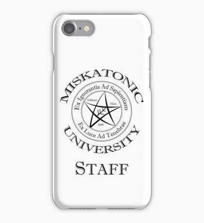 Miskatonic University - Staff iPhone Case/Skin
