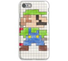 Luigi's 8-Bit Mansion iPhone Case/Skin