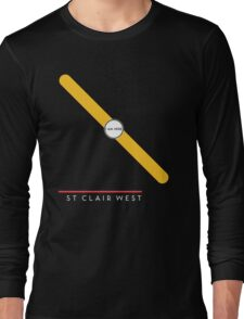 St. Clair West station Long Sleeve T-Shirt
