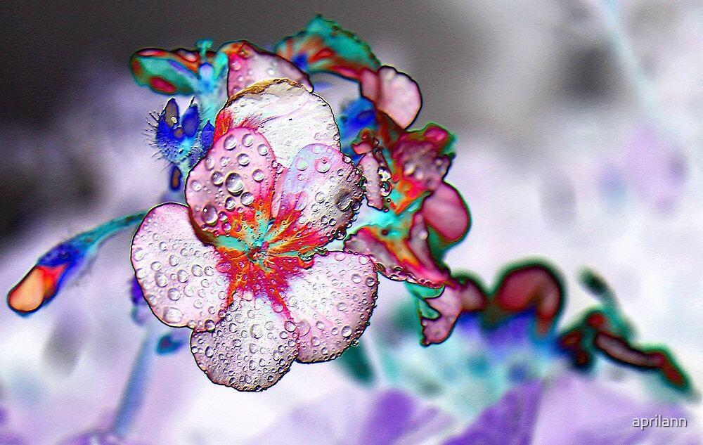 Foiled Geranium by aprilann