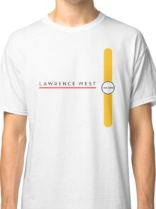 Lawrence West station Classic T-Shirt