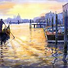Italy Venice Dawning by Yuriy Shevchuk