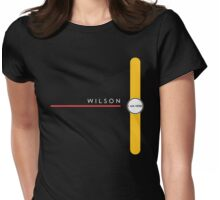 Wilson station Womens Fitted T-Shirt