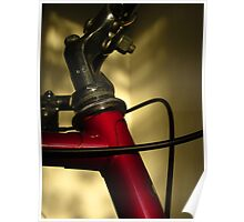 A Study In Scarlet Bicycle Poster