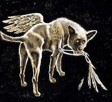 """""""WingedDog"""" by Sergei Rukavishnikov by Alenka Co"""