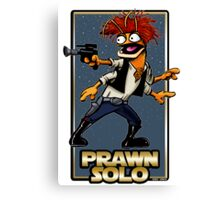 Prawn Solo Canvas Print