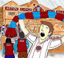 Aston Villa - Champions of Europe by Steve Nestor