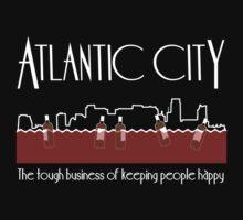 Atlantic City Boardwalk by Seftonia